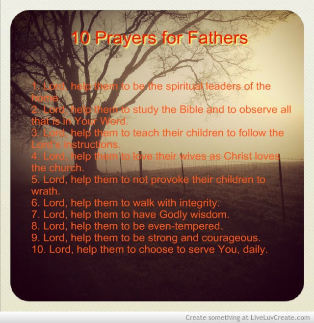 10 Prayers For Fathers Prayer In Every City