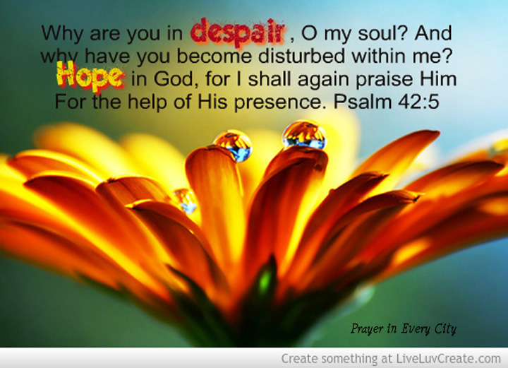 10 Bible Verses for Those Suffering from Deep Depression – Prayer ...
