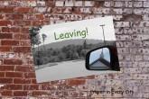 Leaving copy