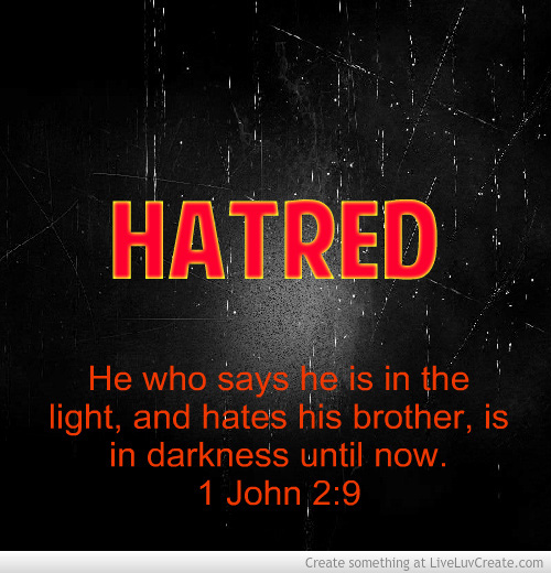 bible verses about love and hate