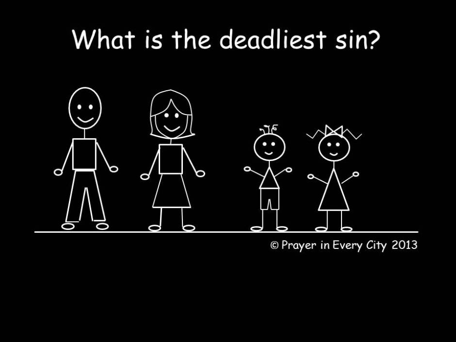 What is the deadliest sin jpg