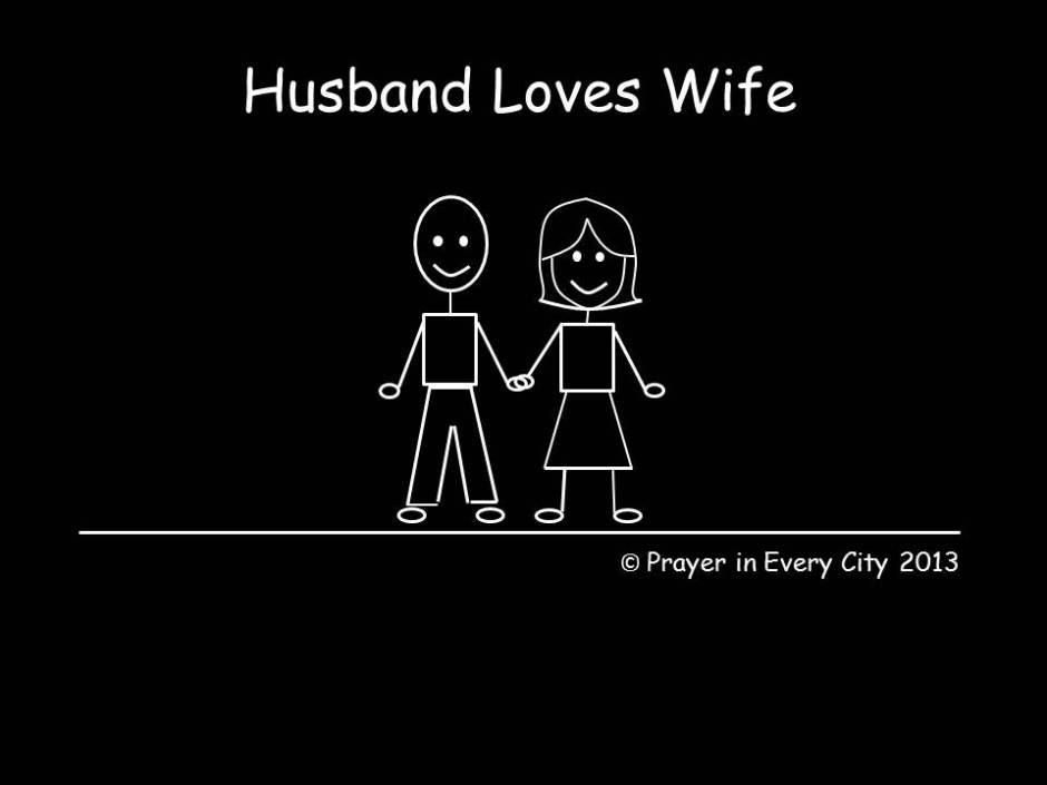 stick people husband wife