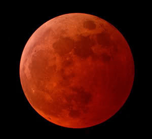 Next Blood Moon - October 8, 2014