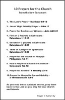 10 Prayers for the Church from the NT