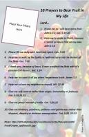 10 Prayers for the Fruit of the Spirit