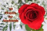 10 Prayers for Newlyweds