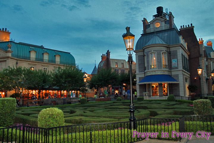 Epcot - Paris