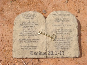 10 Commandments Key to Revival