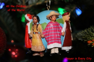 All the Children of the World Ornament
