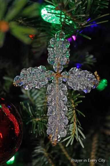 Make an Easy Bead Cross Ornament  Prayer In Every City