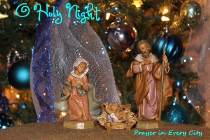 Religious themed christmas decorations prayer in every city for O holy night decorations