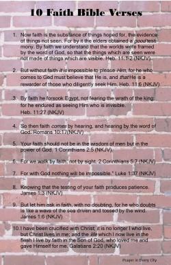 Prayer in Every City 10 Faith Bible Verses