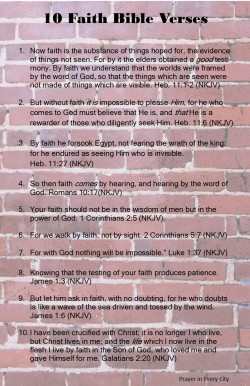 Prayer in Every City 10 Faith Bible Verses