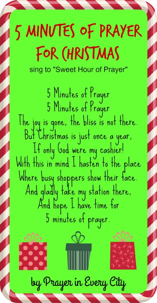 5 Minutes of Prayer Christmas