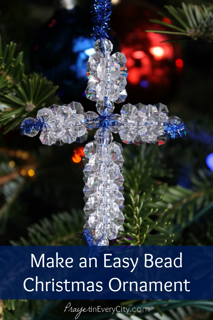 Make Bead Christmas Ornament