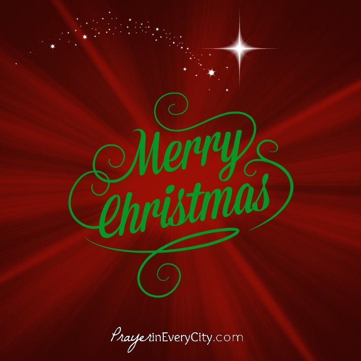Merry Christmas from Prayer in Every City