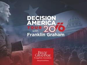 Franklin Graham Decsion America Tour
