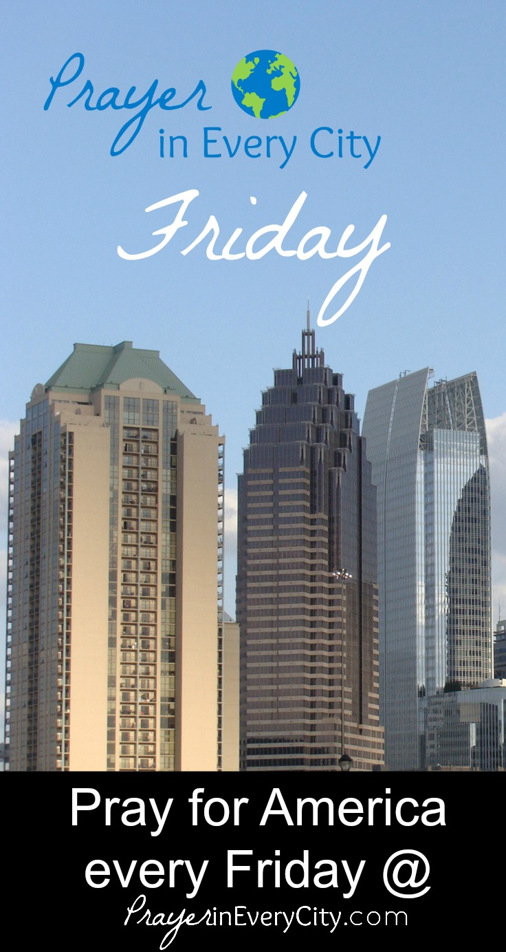 Prayer in Every City Friday Link Party