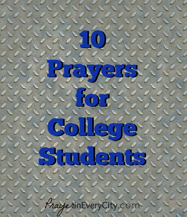 10 Prayers College Students V
