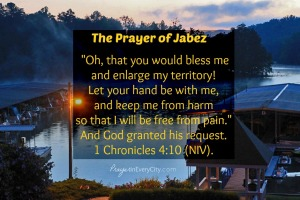 Prayer in Every City Prayer of Jabez