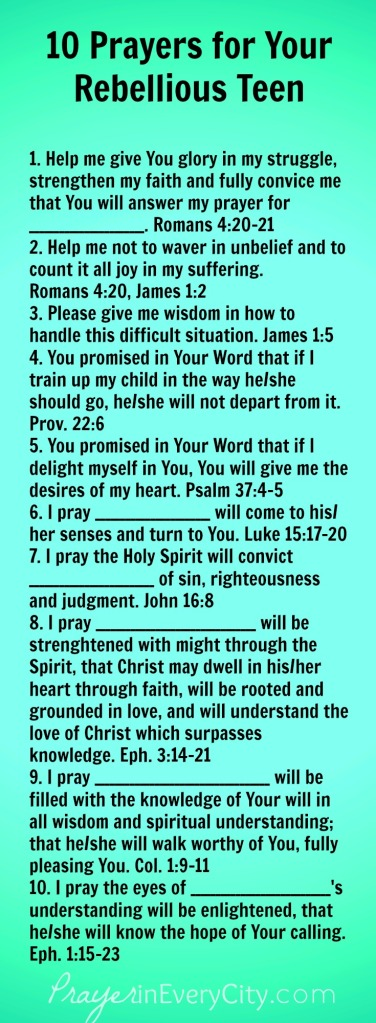 10-prayers-for-your-rebellious-teen