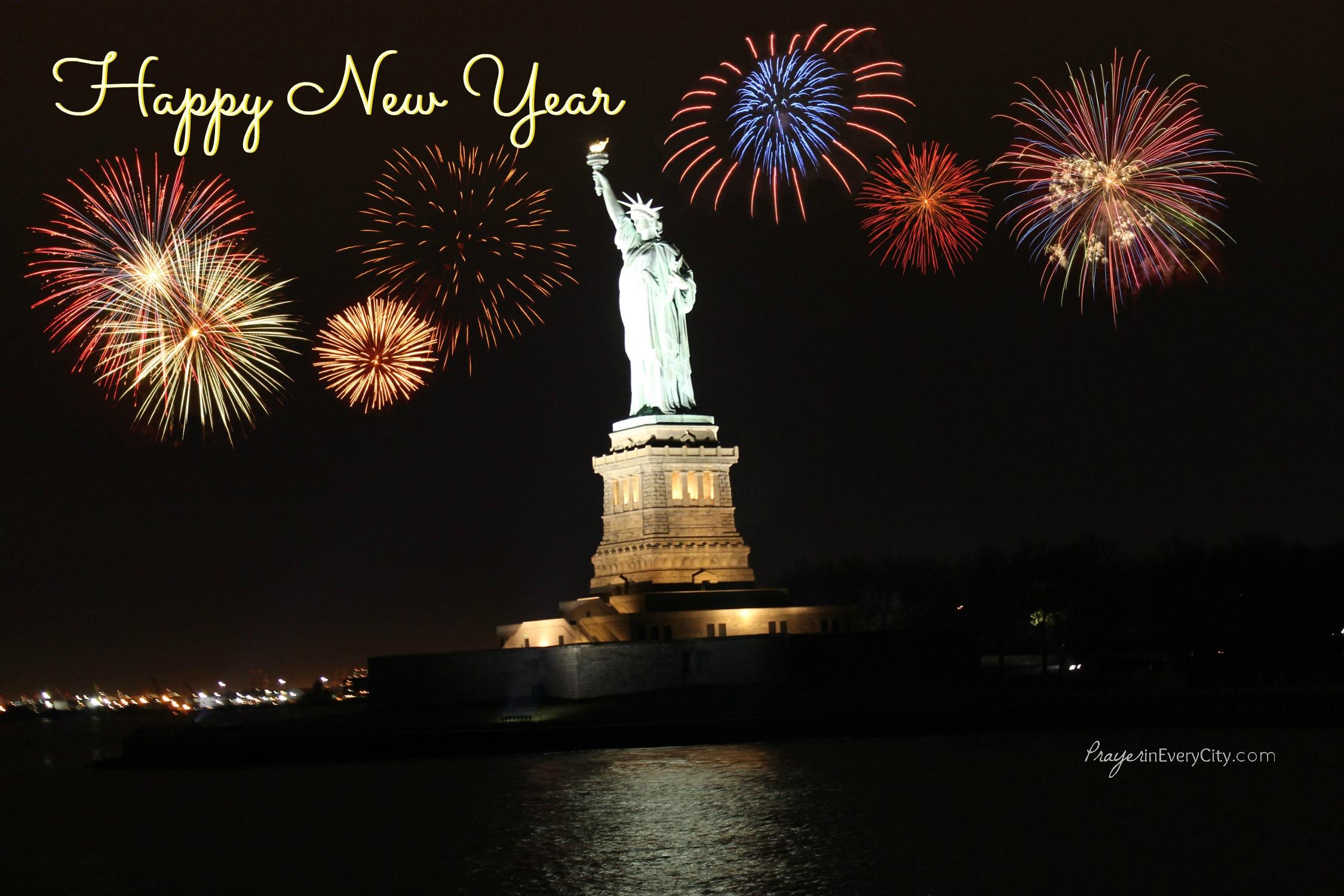 Happy New Year – Prayer In Every City
