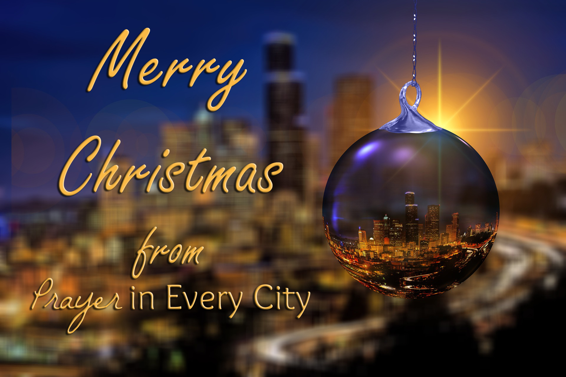 Advent Christmas Day – Happy Birthday Jesus – Prayer In Every City